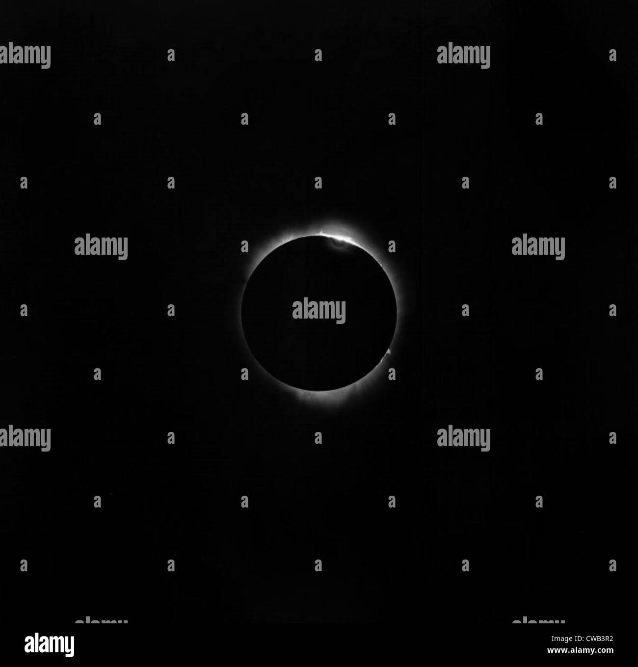 Astronomia. Un eclissi solare, 1937 Immagini Stock