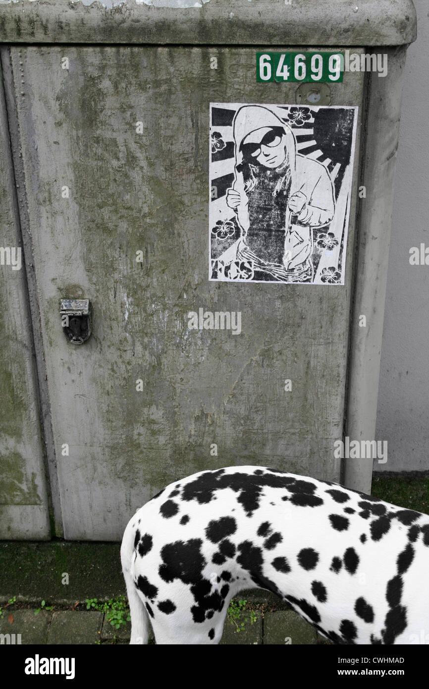 Colori,forme,urban,streetart Immagini Stock