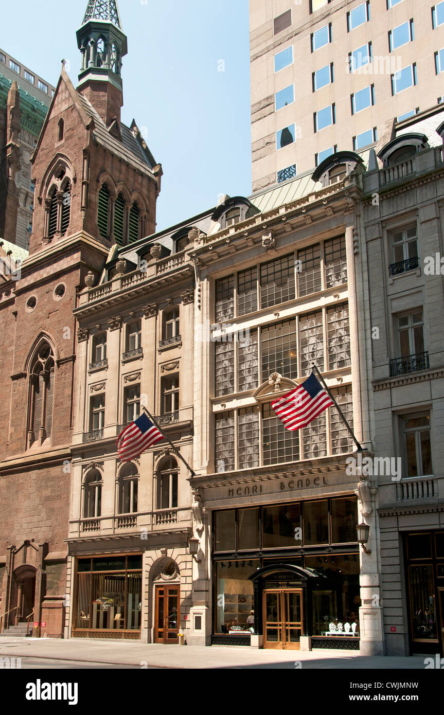 Henri Bendel Quinta Avenue di New York City Manhattan accessori designer borsette gioielli Immagini Stock