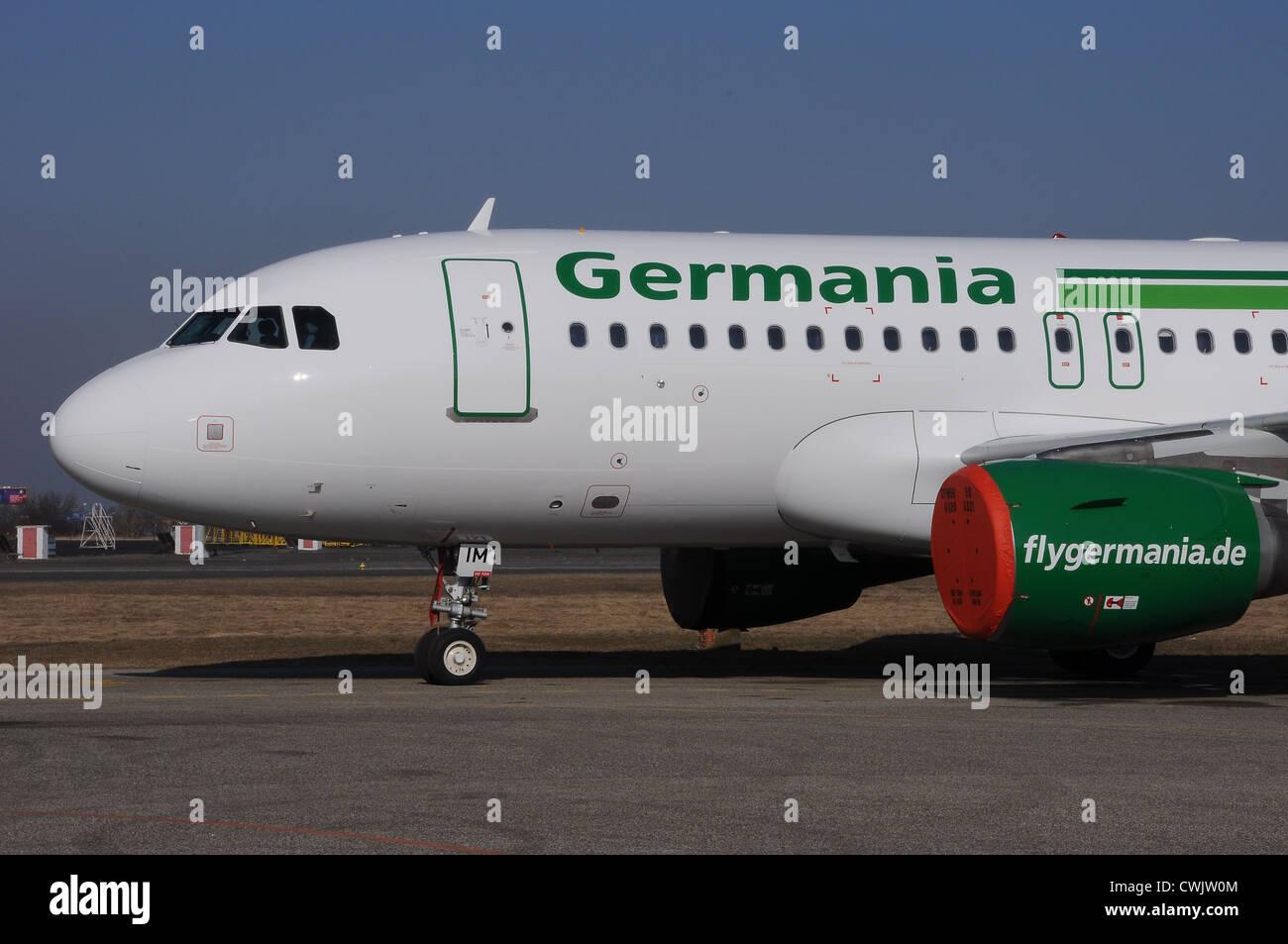 Germania Airbus A319 Immagini Stock