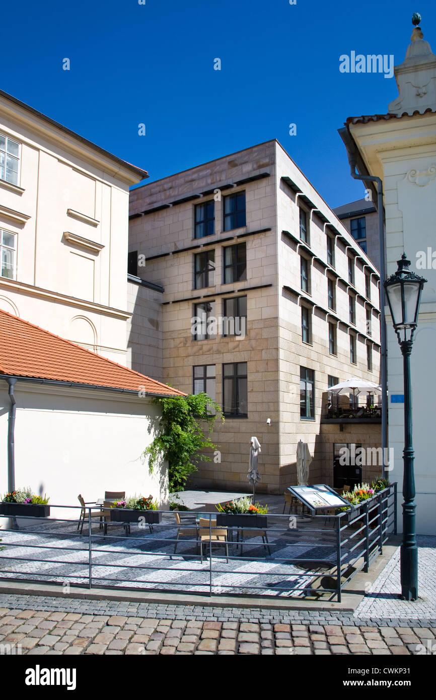 Il ristorante Allegro, Four Seasons Hotel, Staré Mesto, Praha, Ceska republika Immagini Stock