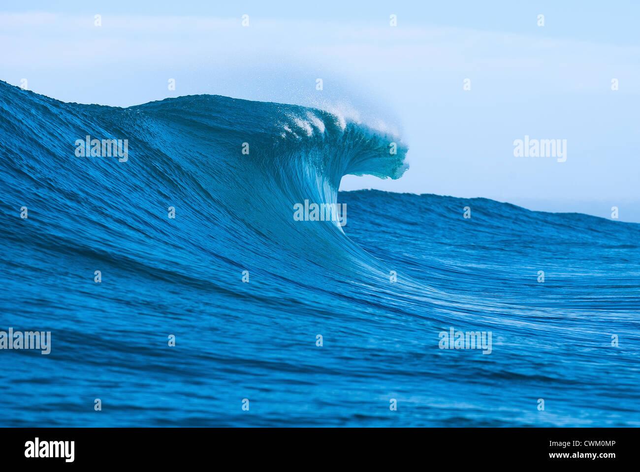 Rottura dell'onda Immagini Stock