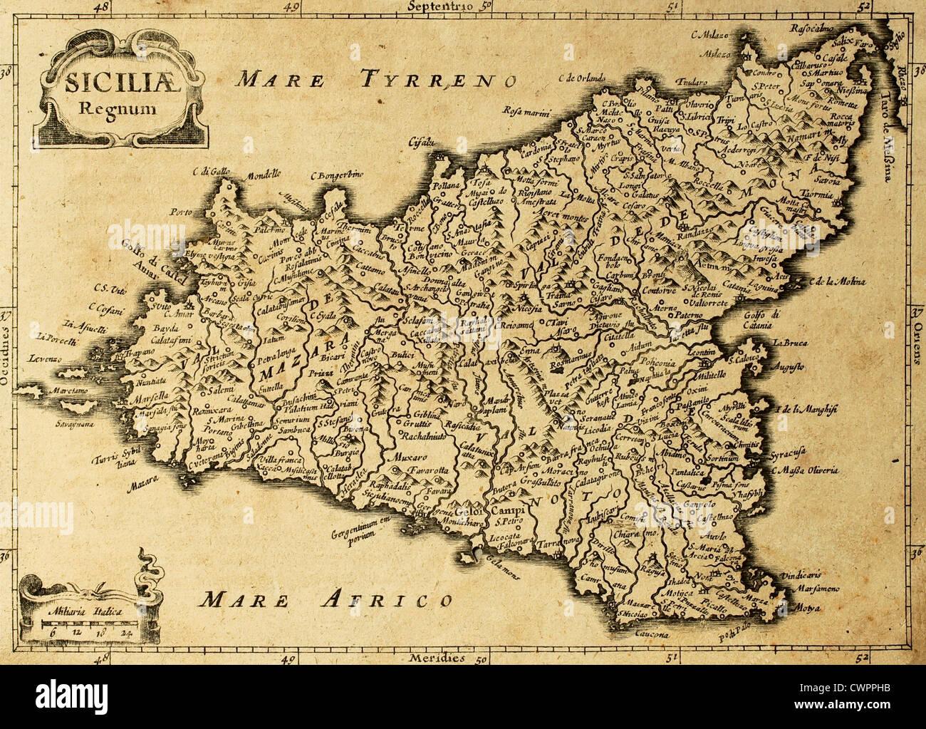 Siracusa Cartina Geografica