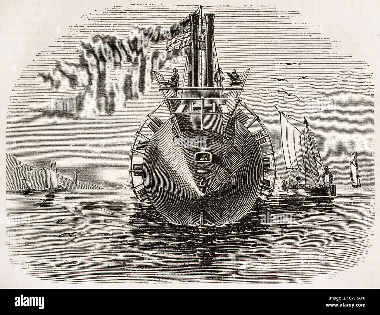 L'oceano, innovativo sistema di cottura a vapore americano Immagini Stock