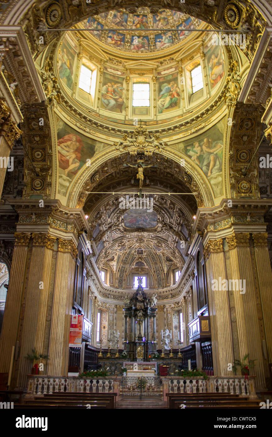 L'Italia, Lombardia, Milano, San Vittore al Corpo chiesa Immagini Stock