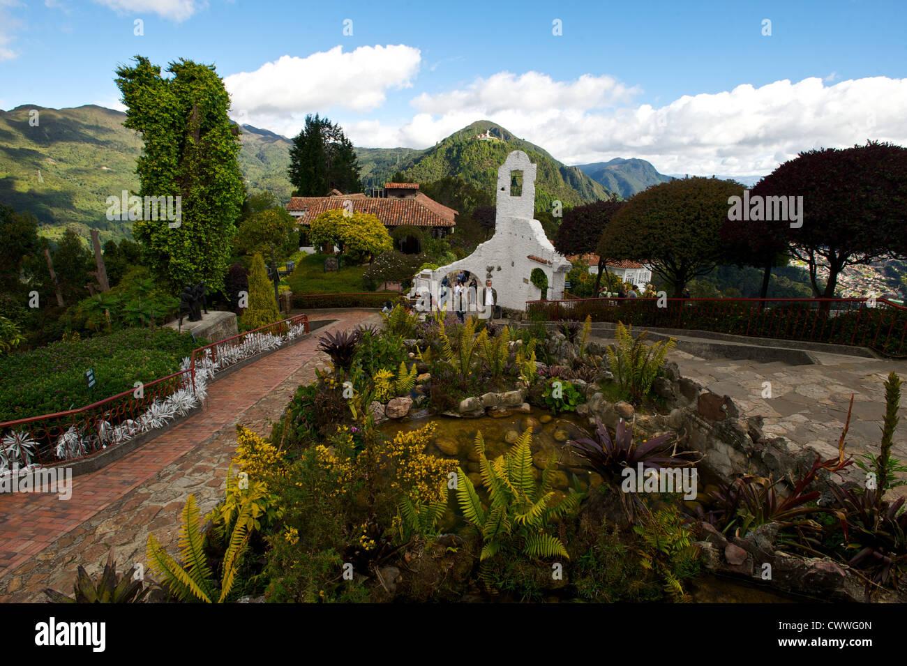 Bellissimo Parco a Bogotà, Colombia, Sud America Immagini Stock