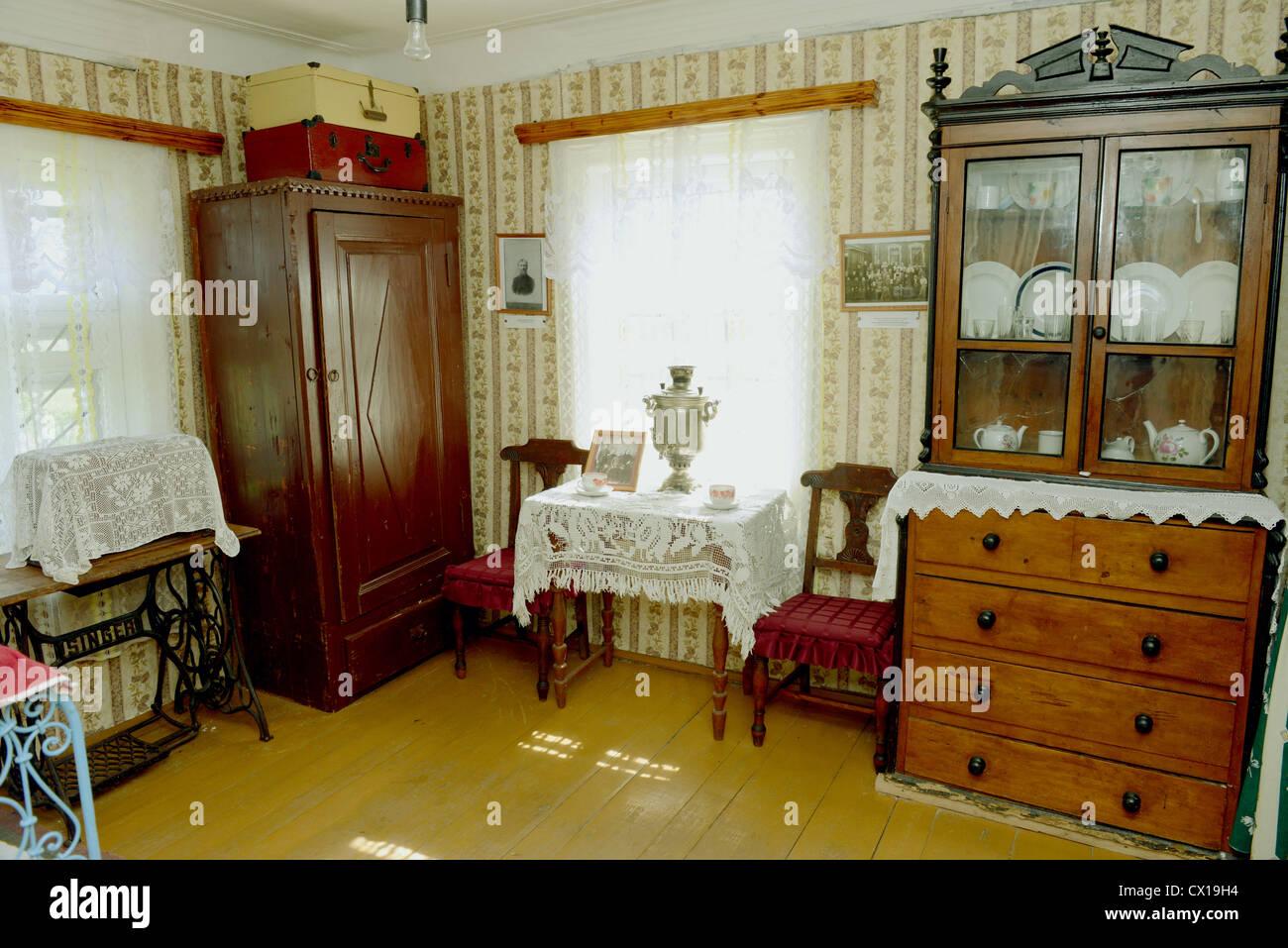 interno del russo casa antica prese nel luglio 2012 nel