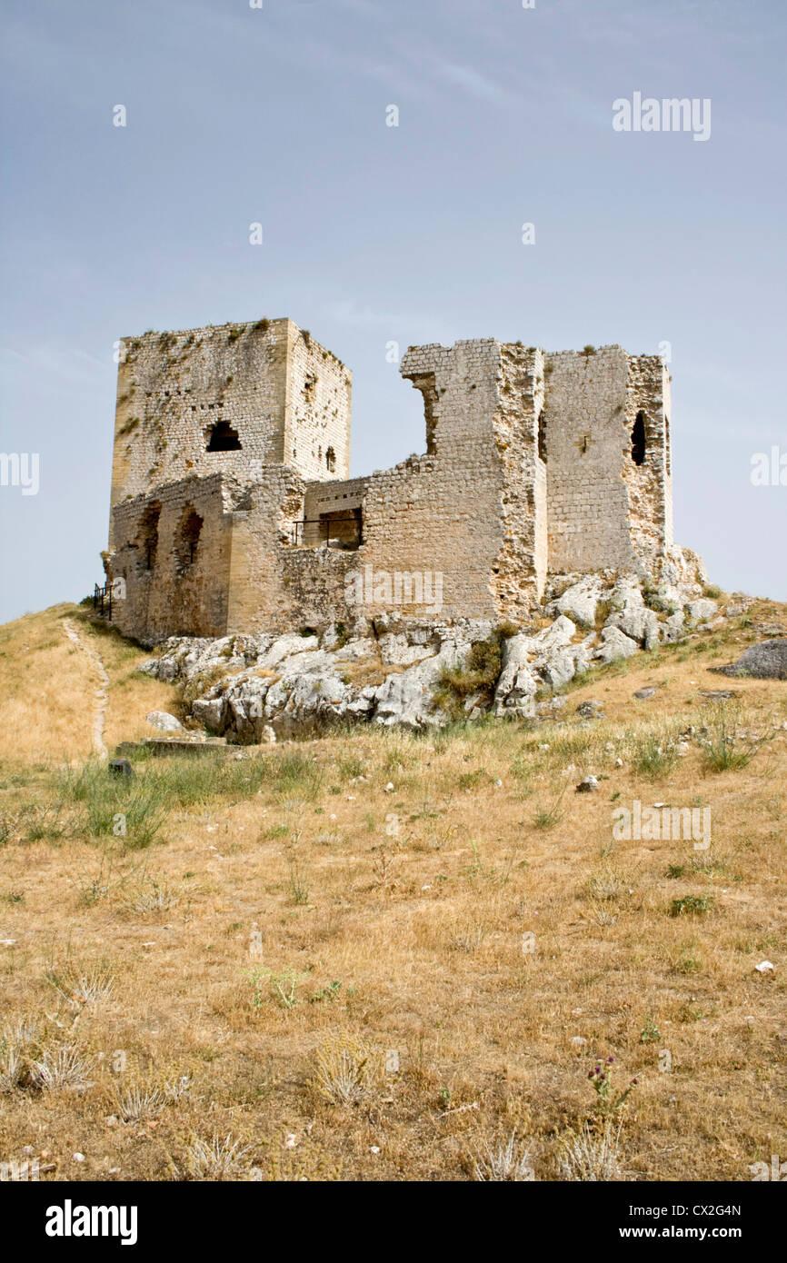 Castillo de la Estrella Teba Andalusia Spagna. Immagini Stock