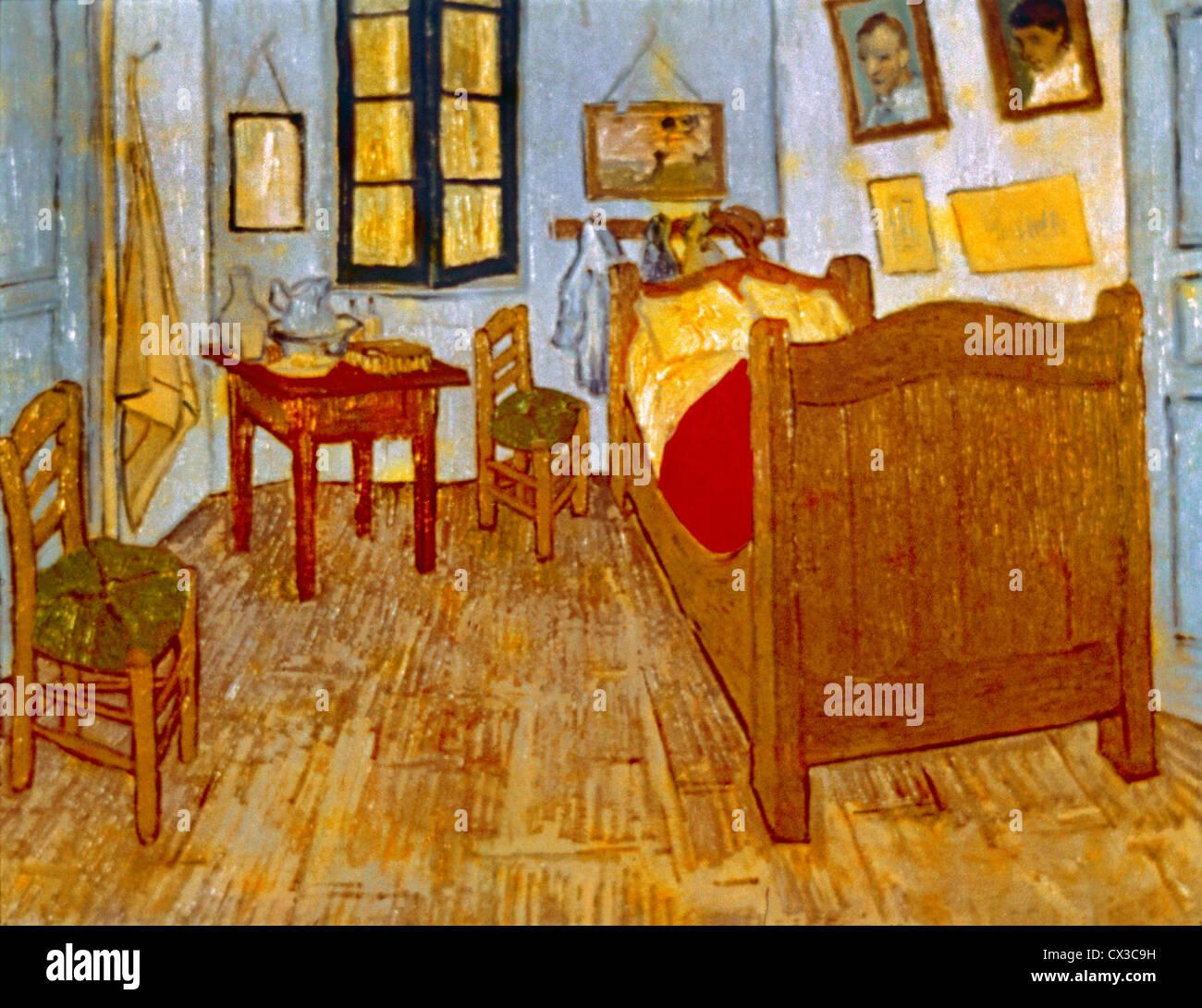 La camera da letto di Vincent Van Gogh Foto & Immagine Stock ...