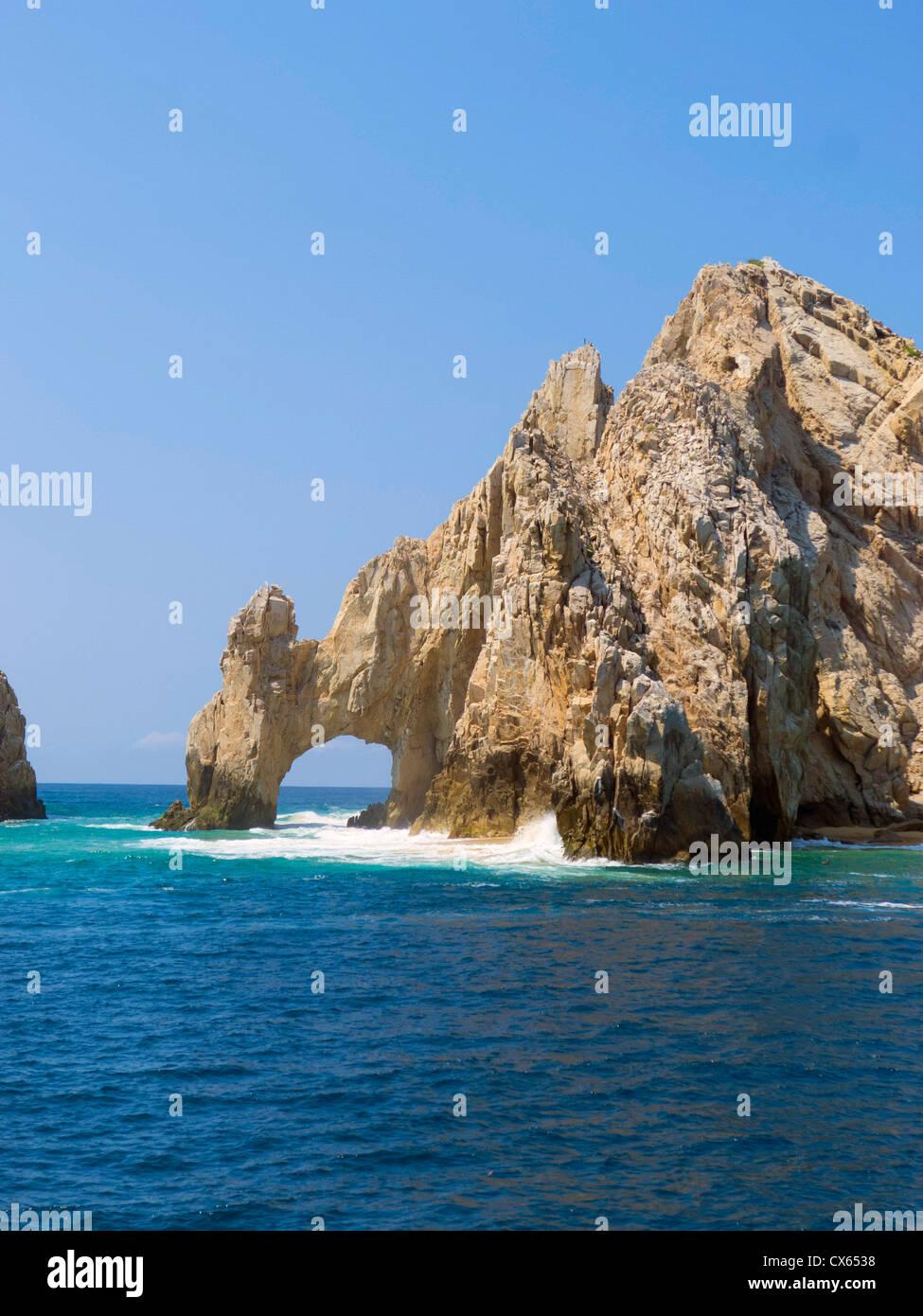 El Arco, l'arco, Cabo San Lucas, Baja, Messico Immagini Stock
