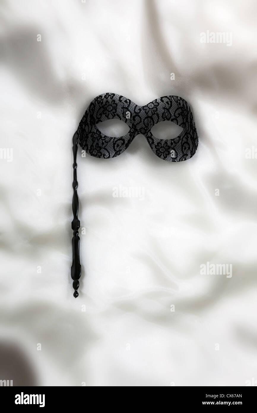 una maschera veneziana Immagini Stock