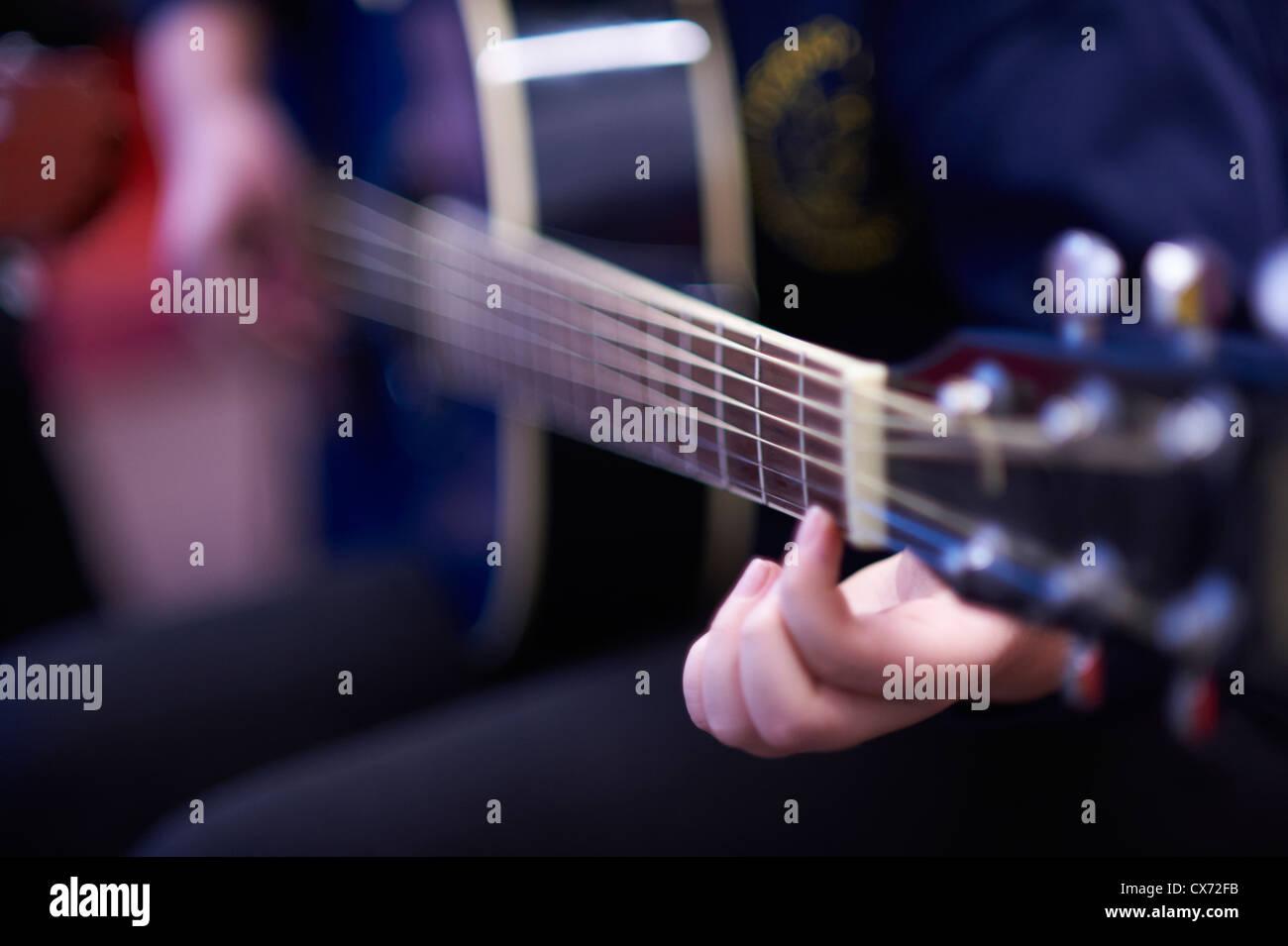 chitarra Immagini Stock