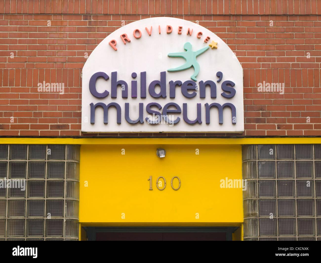 La provvidenza il museo dei bambini in Rhode Island Foto Stock