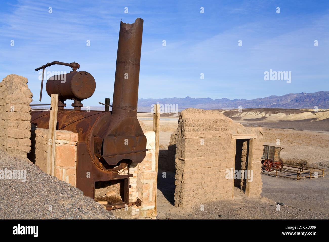 Armonia borace funziona, il Parco Nazionale della Valle della Morte, California, Stati Uniti d'America, America Immagini Stock
