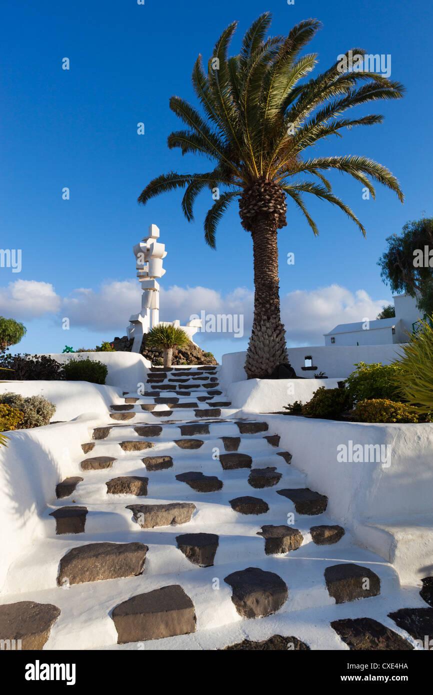 Monumento al Campesino, La Casa Museo del Campesino, Mozaga, Lanzarote, Isole Canarie, Spagna Immagini Stock