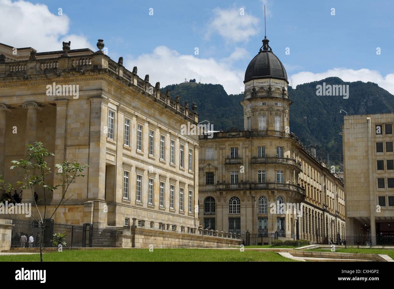 Capitol nazionale, Bogotà, Colombia Immagini Stock