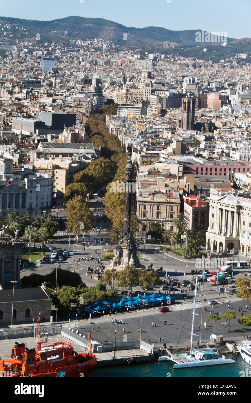 Barcelona, Spagna Immagini Stock
