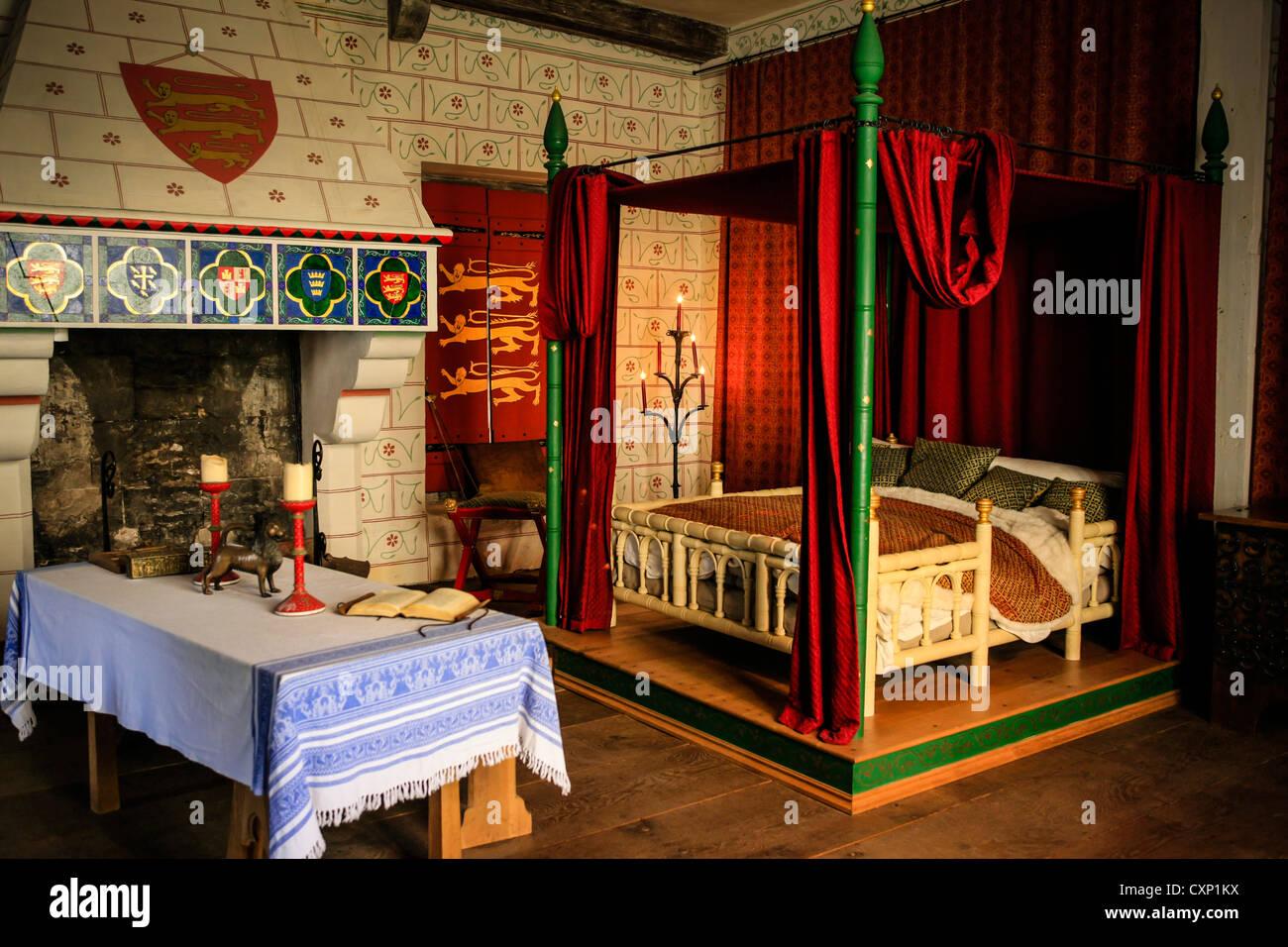 Camere Da Letto Medievali : Letto medievale camera nella torre di londra complessa foto