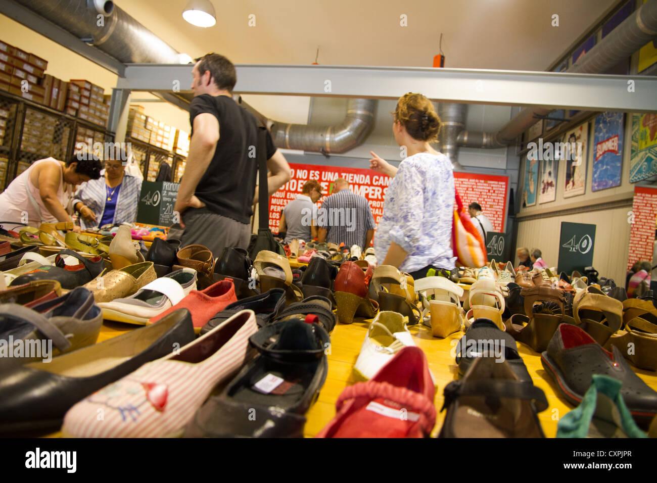 Scarpe store shop uscita Camper, Inca Mallorca Spagna Spain