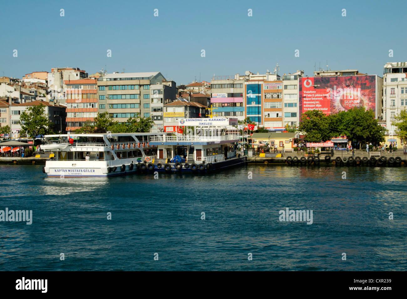 Türkei, Istanbul, Kadiköy, Stadteil Moda Immagini Stock