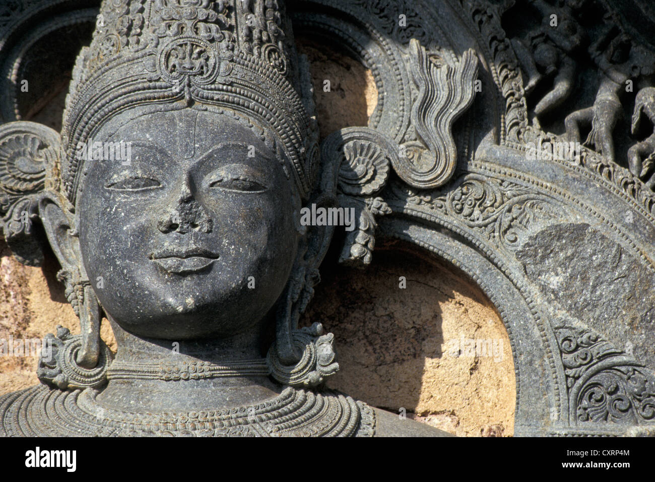 Statua del vedica del dio del sole Surya, del XIII secolo, tempio indù, Surya o Sun tempio, Patrimonio Mondiale Immagini Stock