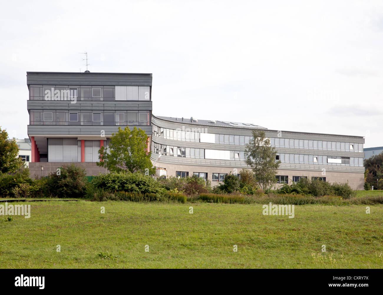 Istituto federale di ricerca per la progettazione idraulica, Ilmenau, Turingia, Germania, Europa PublicGround Immagini Stock