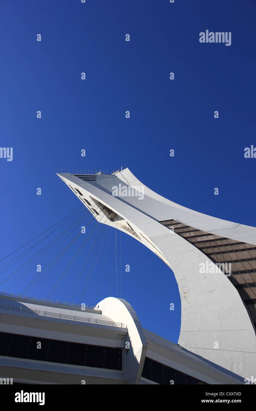 Montreal Olympic Stadium Immagini Stock