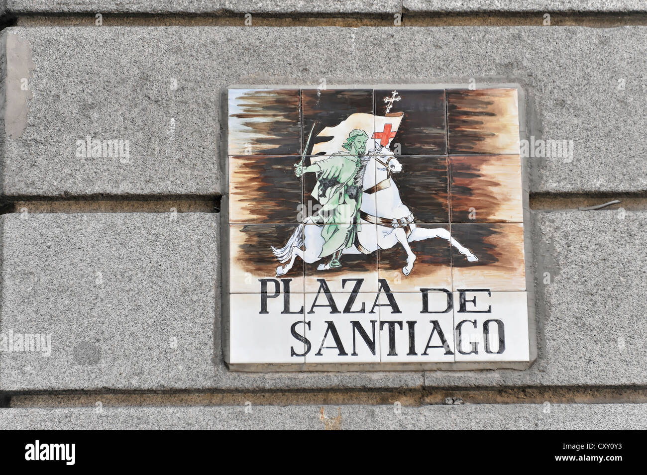 Sign for santiago immagini sign for santiago fotos stock alamy