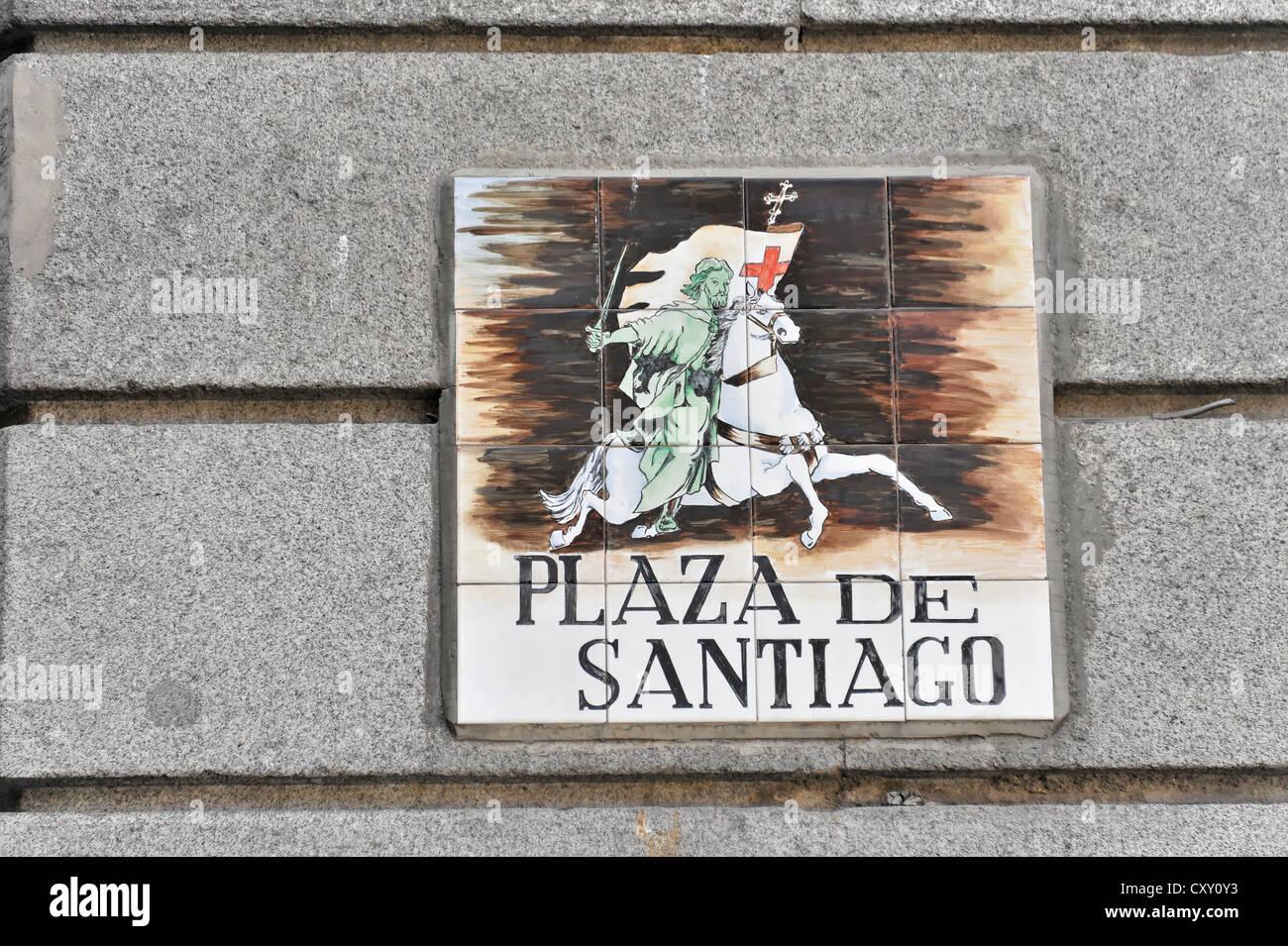 Sign for santiago immagini & sign for santiago fotos stock alamy