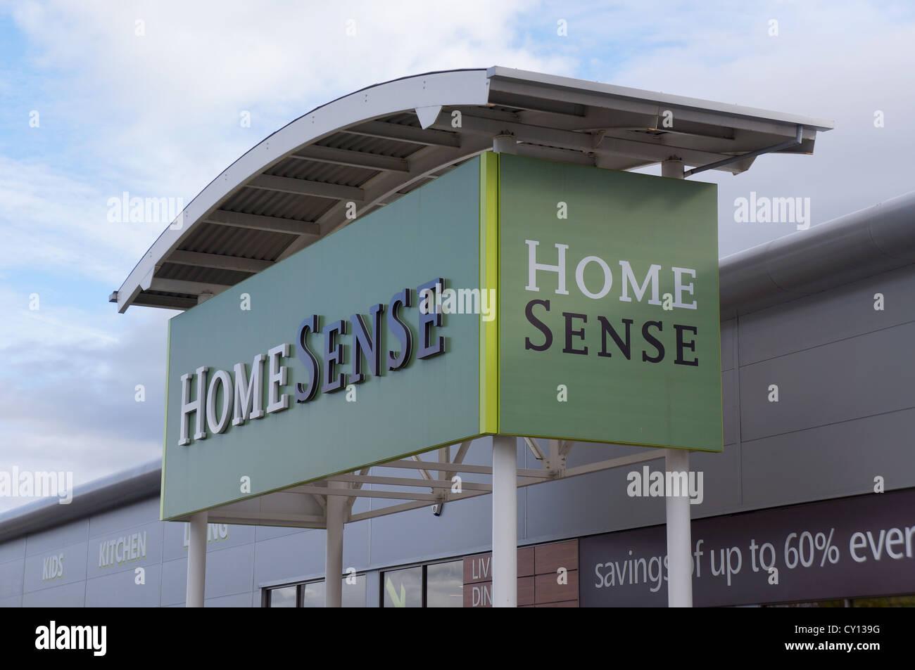 Home senso store, merry hill, Regno Unito Immagini Stock