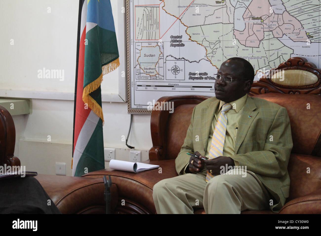 South Sudan Repubblica per scrivania