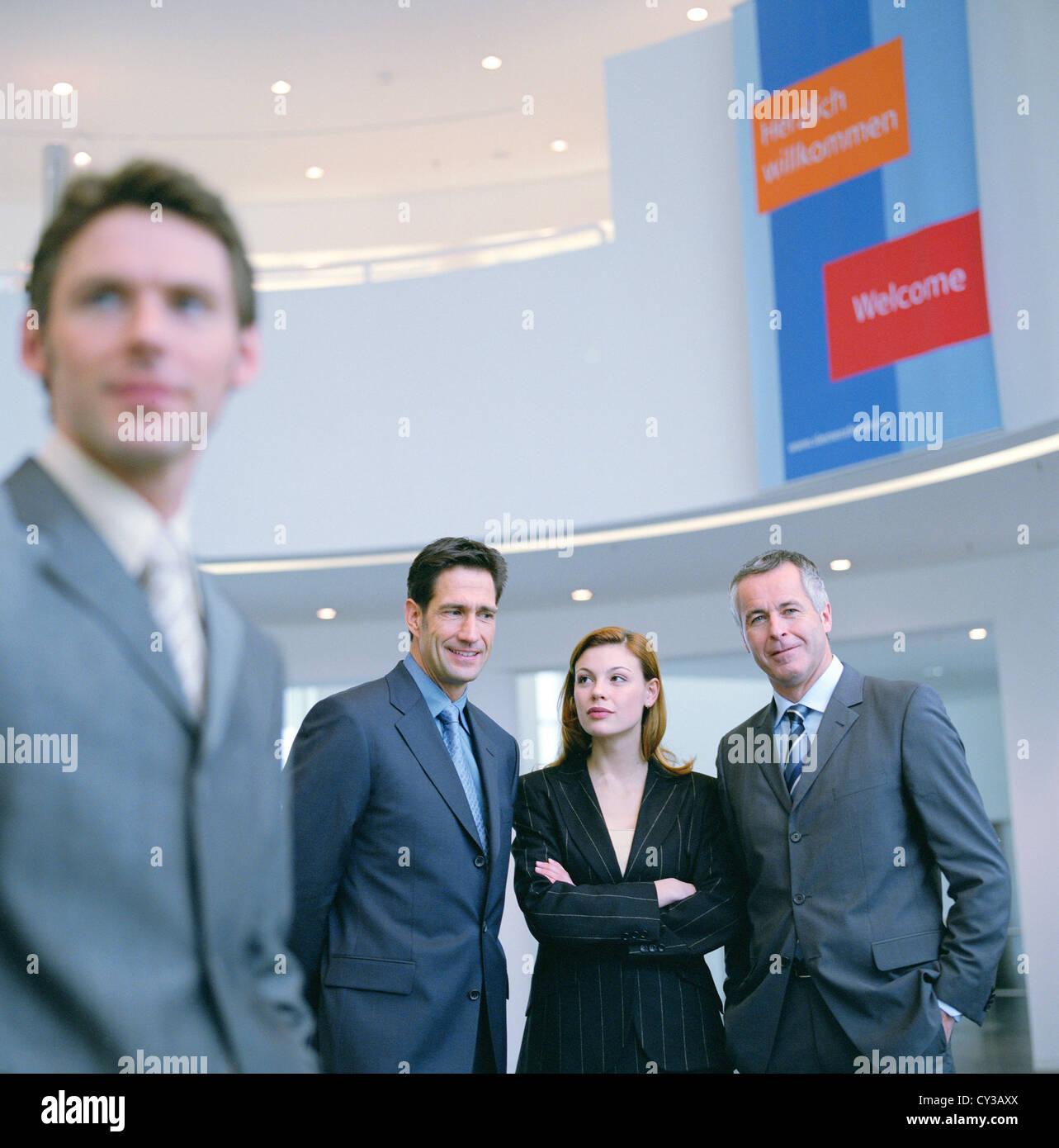 Business man People Manager licenza gratuita ad eccezione di annunci e cartelloni per esterni Immagini Stock