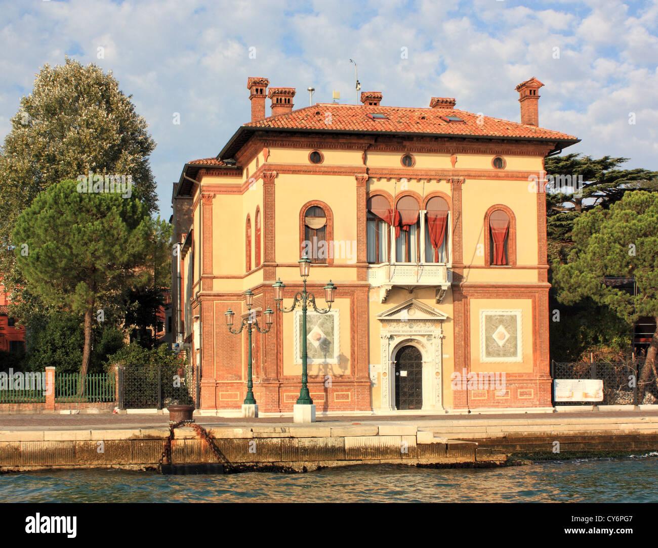 Villino Canonica (Istituto ISMAR) Foto Stock