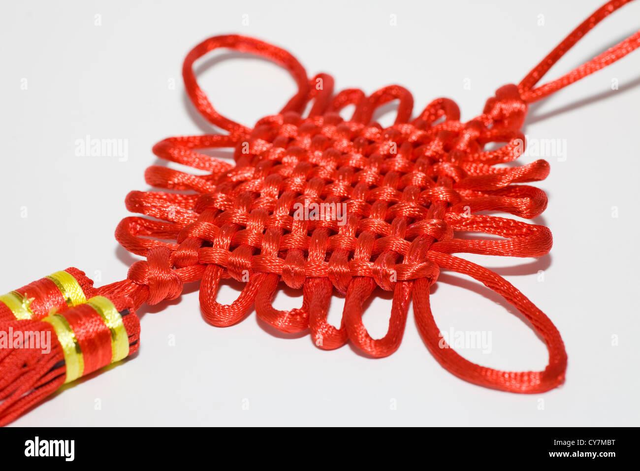 Complemento per il nuovo anno lunare cinese con elemento di cultura design Immagini Stock