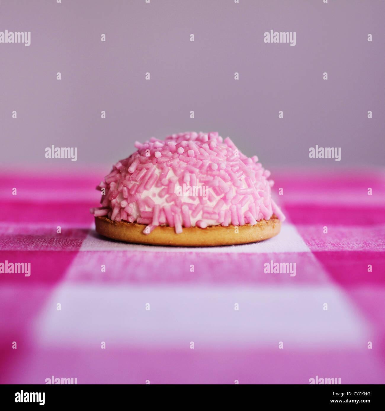 Candy, tortino Immagini Stock