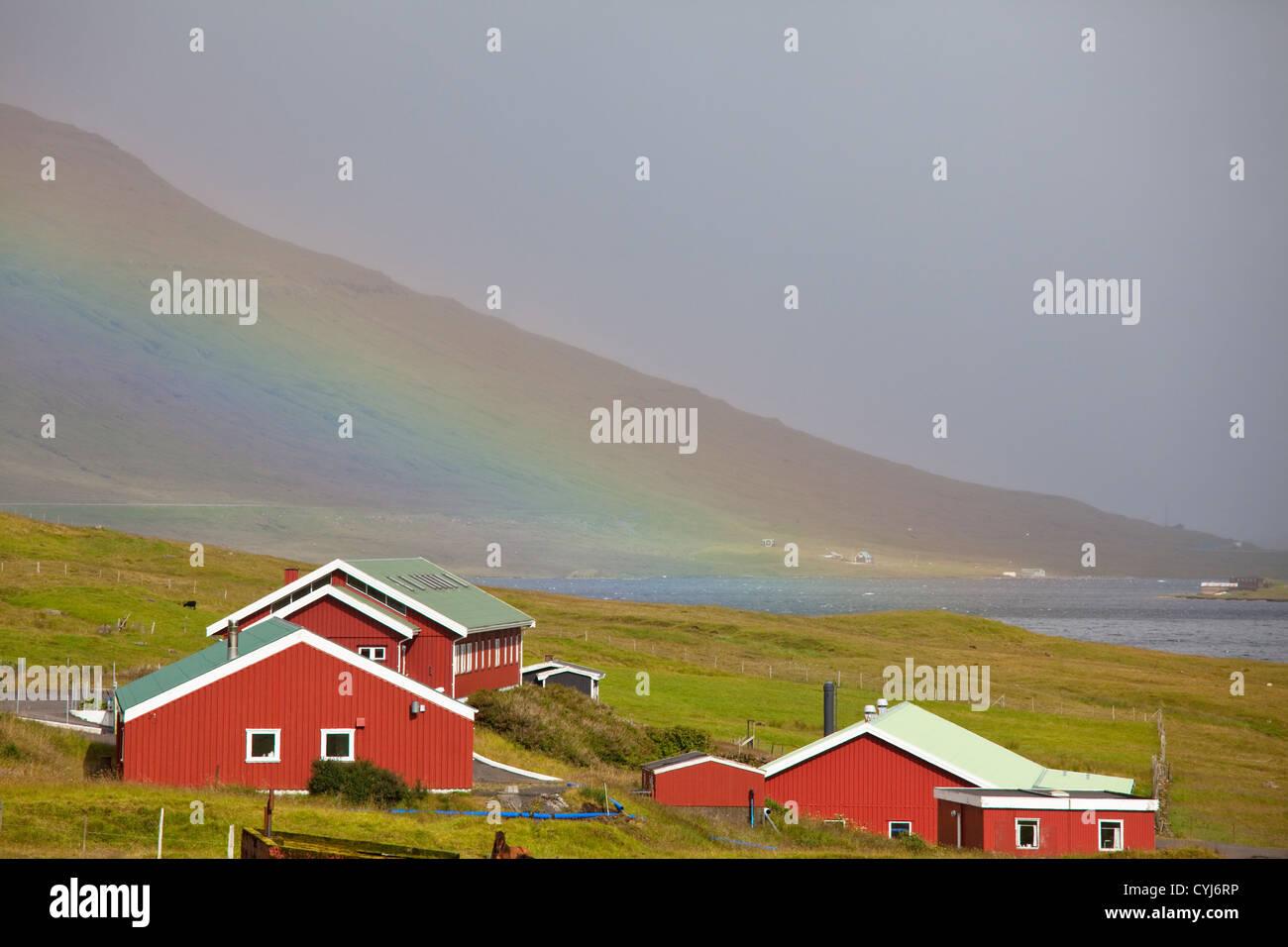 Isole Faroe Immagini Stock