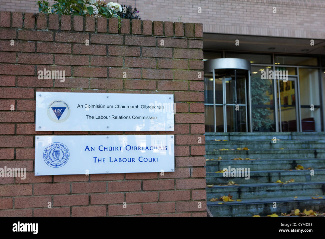 Le relazioni di lavoro la Commissione e la corte del lavoro a Dublino Repubblica di Irlanda Immagini Stock