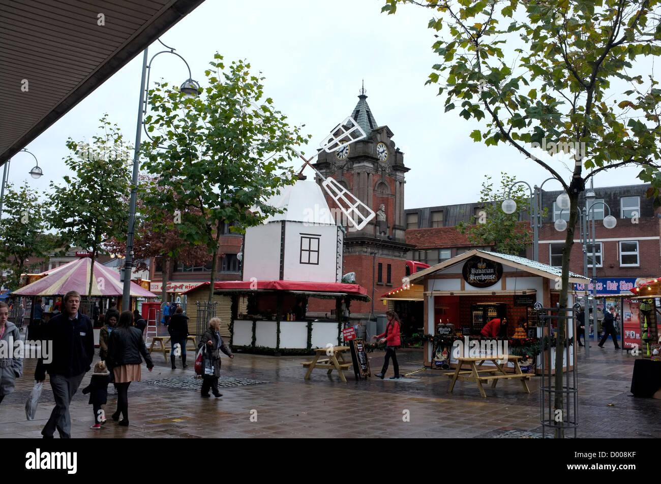 Bexleyheath centro commerciale kent Regno Unito 2012 Immagini Stock