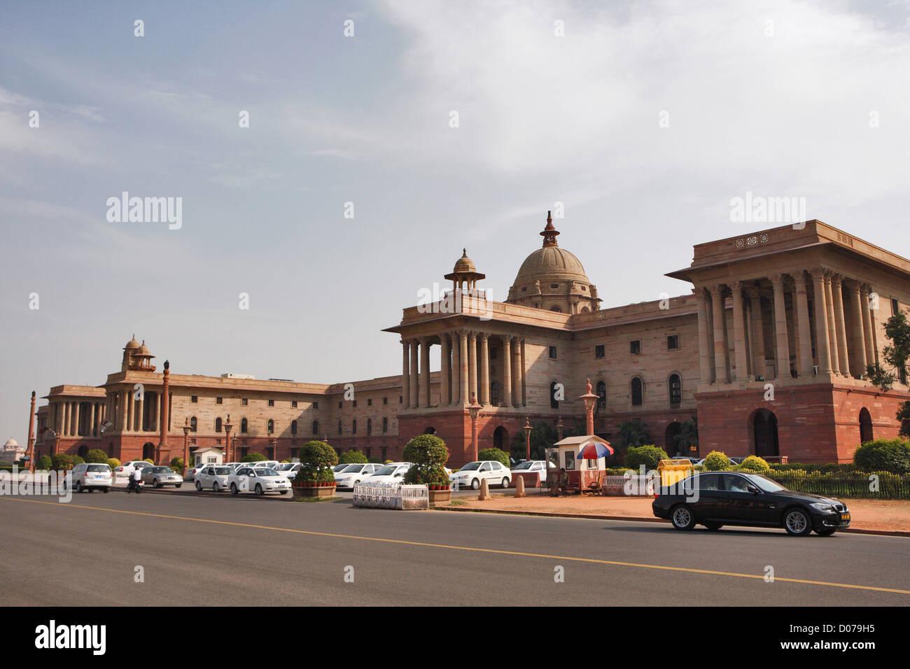 Blocco del nord, New Delhi, India Immagini Stock