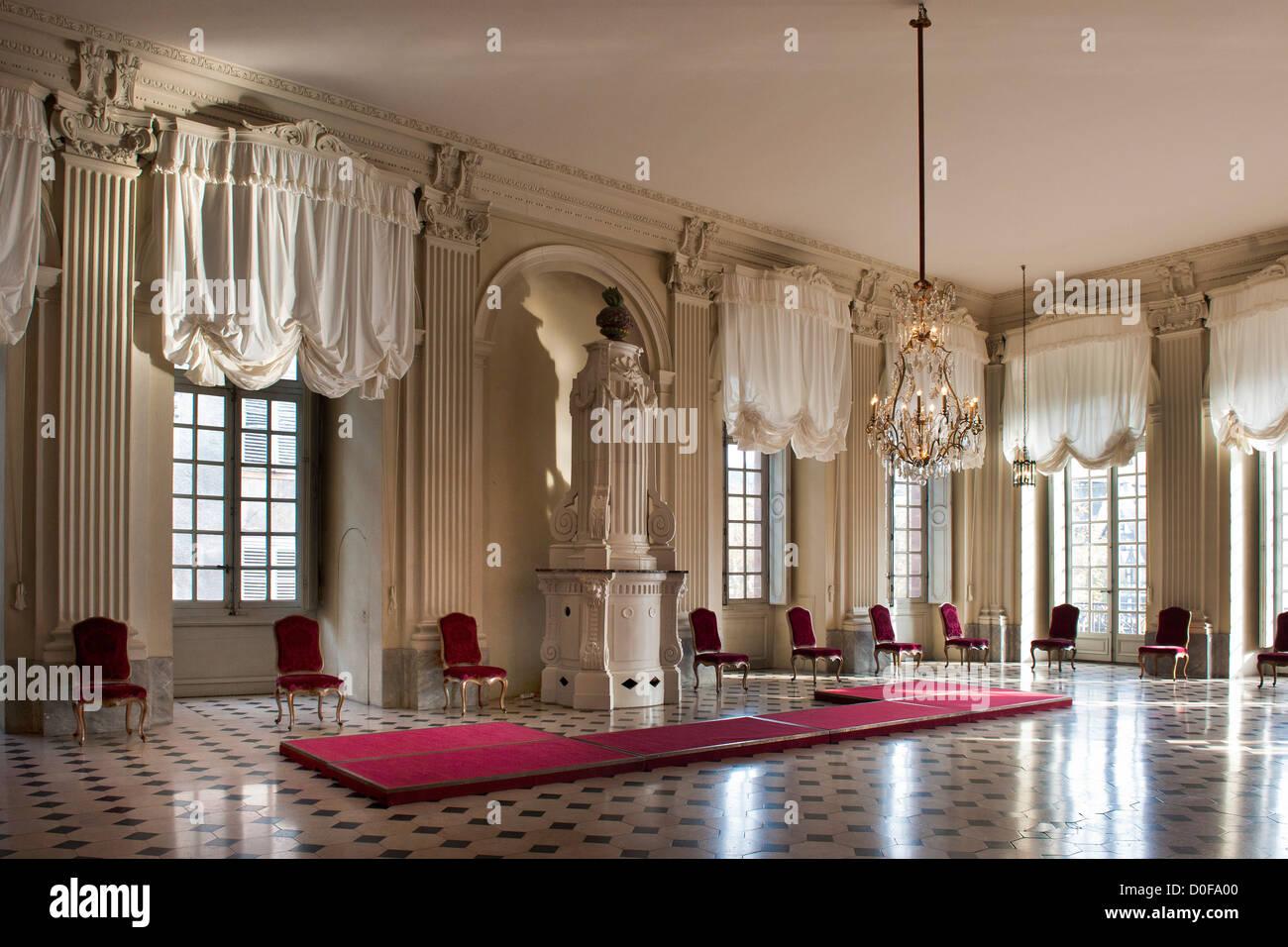 Francia, Alsazia, Strasburgo, Palazzo Rohan, il Museo di Arti Decorative Immagini Stock