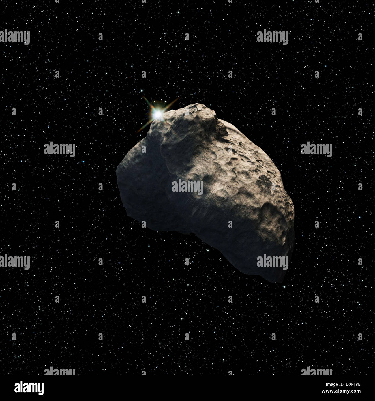 Piccolo Kuiper Belt Object Immagini Stock