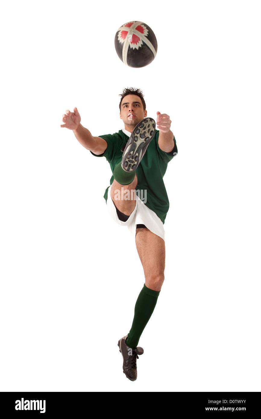 Giocatore di rugby Immagini Stock