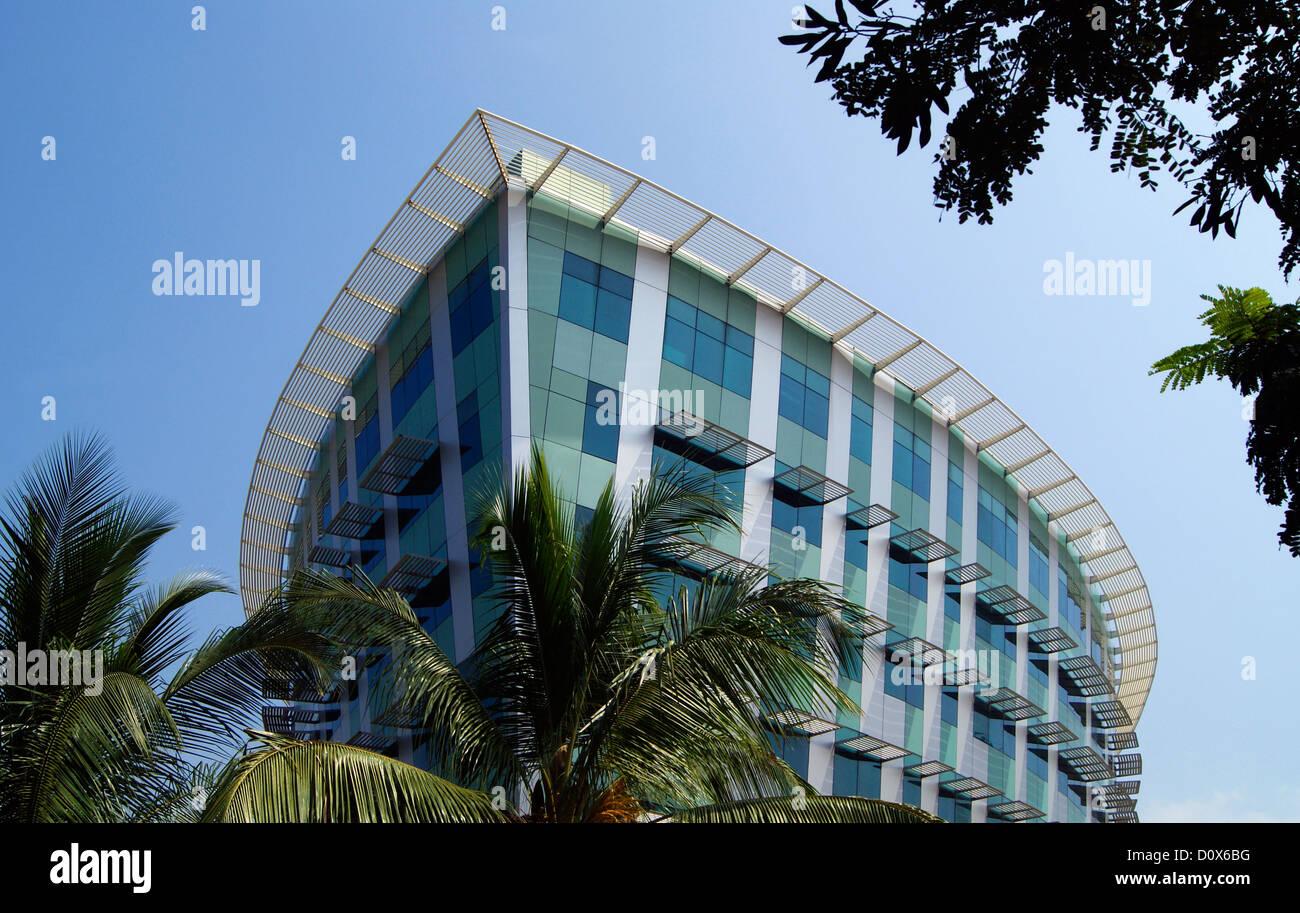Infosys campus in Kerala India su Trivandrum città costruita sulla forma di una nave Immagini Stock