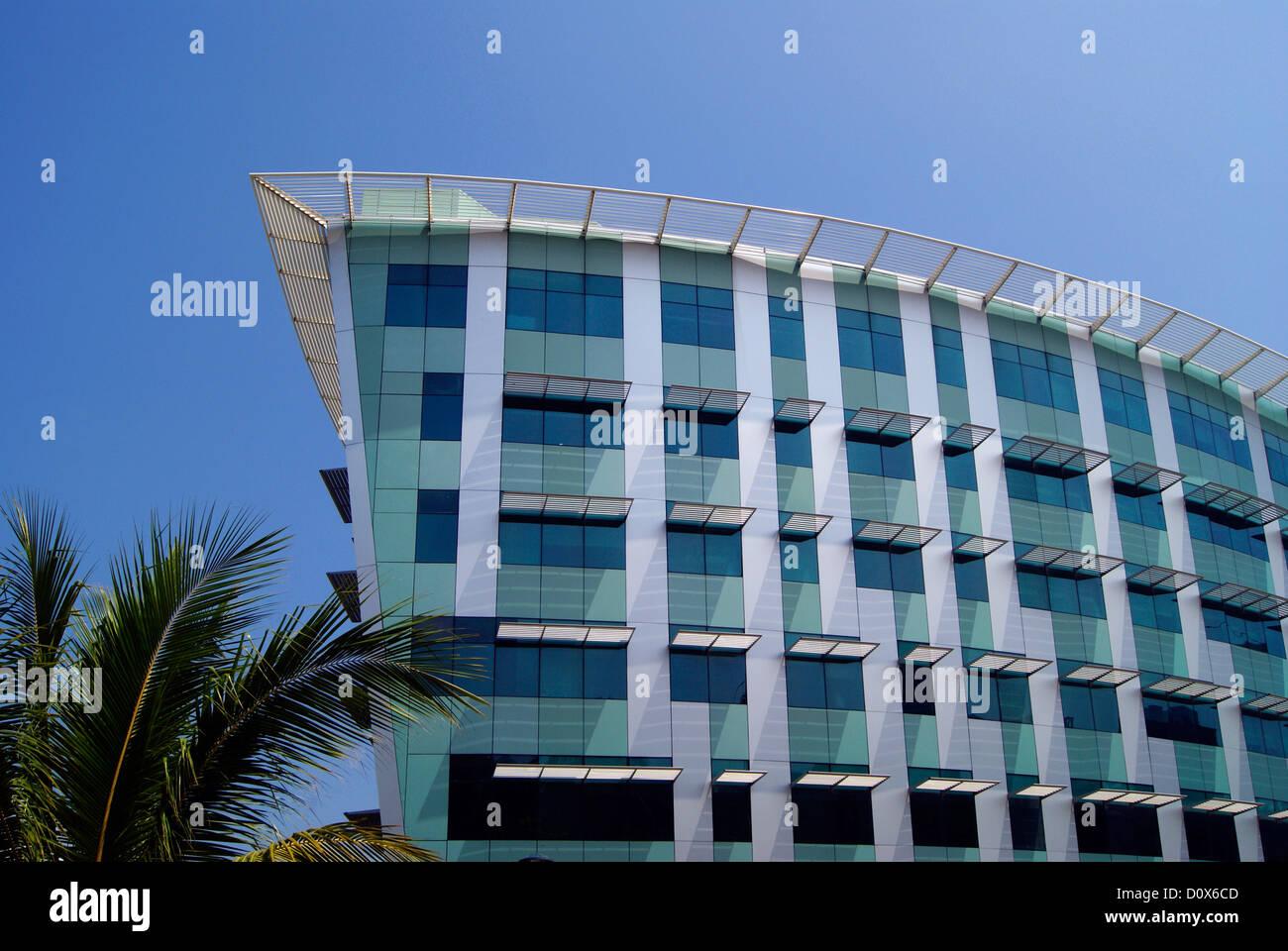 Infosys esso edificio del campus a Thiruvananthapuram Kerala India Immagini Stock