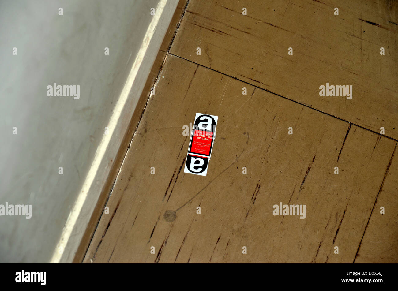 Amianto contrassegnato piastrelle per pavimento 3278 foto & immagine