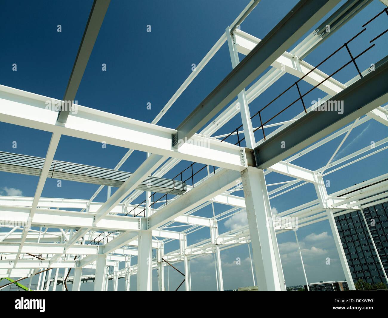 Telaio di costruzione Immagini Stock