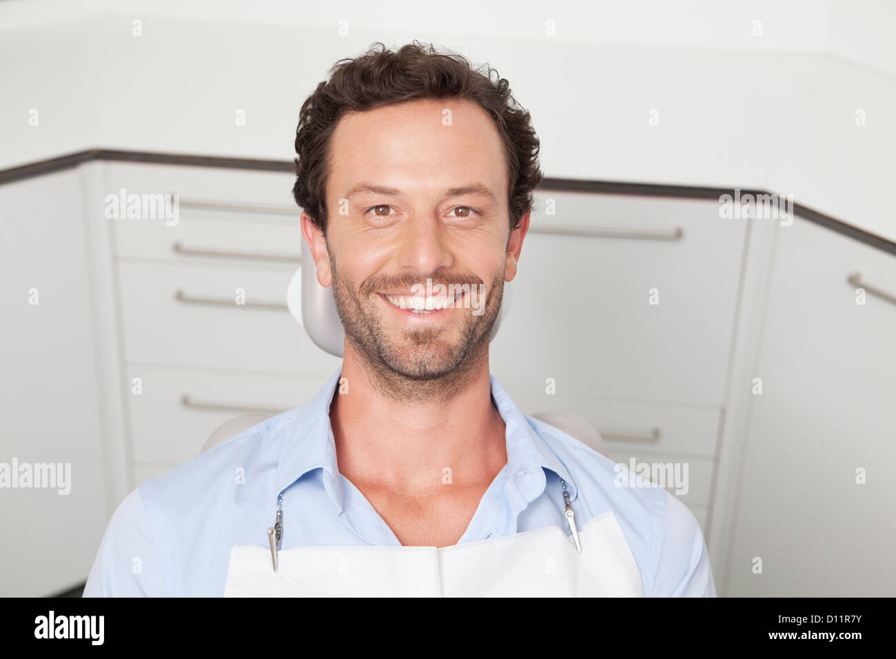 Germania, Paziente in studio dentistico Immagini Stock