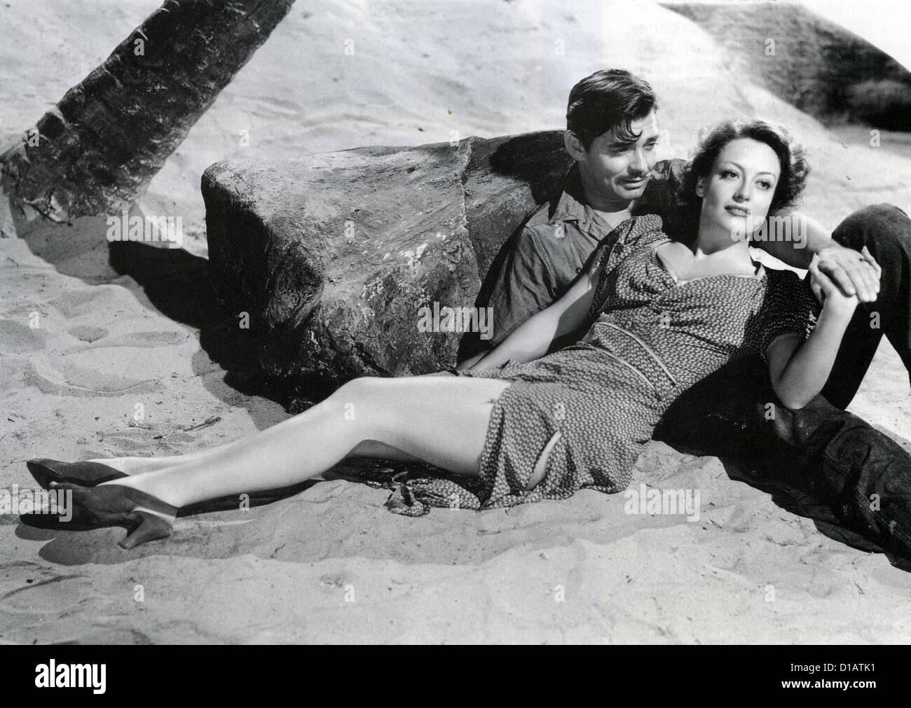 Strano CARGO 1940 MGM film con Clark Gable e Joan Crawford Immagini Stock