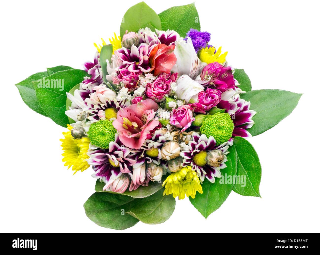 Bouquet Di Fiori Per La Ragazza Giovane Compleanno Macro