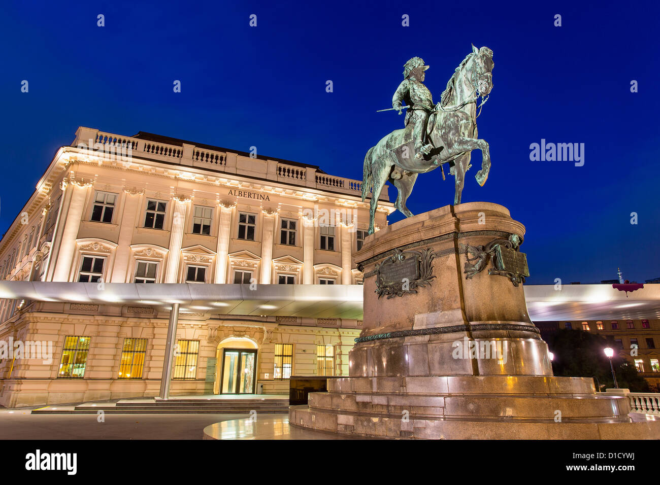 Franz Joseph I., Albertina di Vienna, Austria Immagini Stock